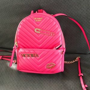 VICTORIA'S SECRET SMALL PINK BACKPACK NWT